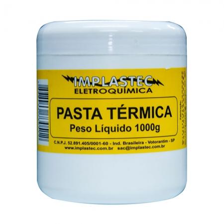 Pasta Termica Implastec a Base de Silicone Pote 1KG