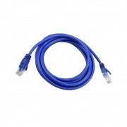 Patch CORD Pluscable CAT5EPC-ETHU25BL Cabo de Rede 2,5M AZUL