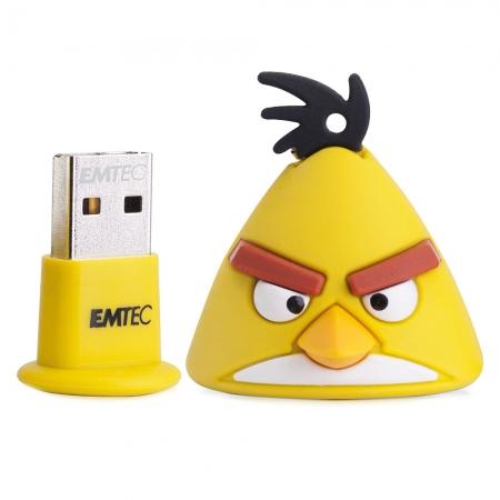 Pen Drive EMTEC ANGRY BIRDS Yellow BIRD 08GB 2.0