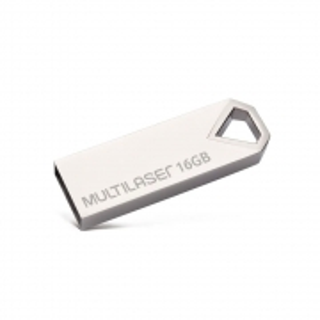 Pen Drive Multilaser Diamond Metalico 16GB PD850
