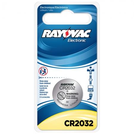 Pilhabotao Rayovac Lithium CR2032 3V UNID