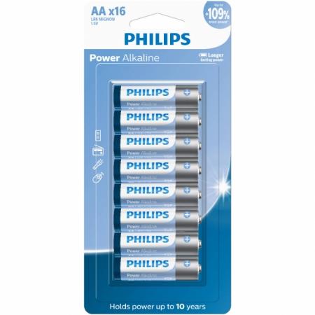 Pilhas Alcalinas AA Blister com 16 Unidades LR6P16B/59