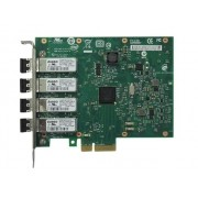 Placa de Rede Server INTEL E1G44HFBLK PCI-EX X4 CHIP 82580 Quad PORT LC Fiber 1GBIT