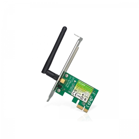Placa de Rede Wireless N TP-LINK TL-WN781ND PCI 150 MBPS - TPL0284