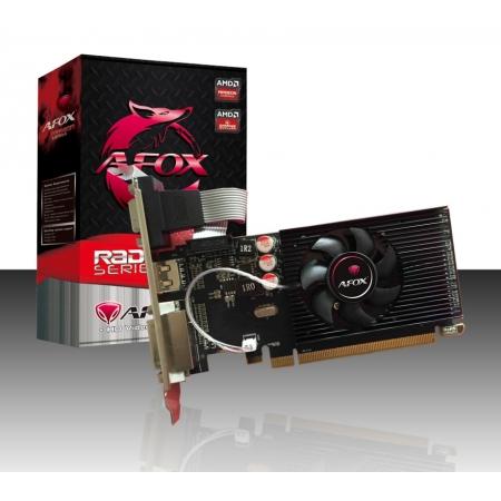 Placa de Video AFOX AMD Radeon R5 230 1GB DDR3 64 BIT LP Heatsink - HDMI - DVI - VGA - AFR5230-1024D