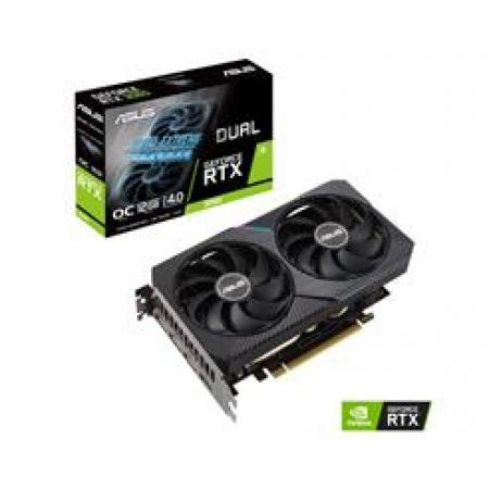 Placa de Video ASUS Geforce RTX 3060 12GB GDDR6 192 BITS LHR * - DUAL-RTX3060-O12G-V2