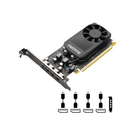 Placa de Video PNY Nvidia Quadro P1000 4GB 128 BITS VCQP1000V2-PB