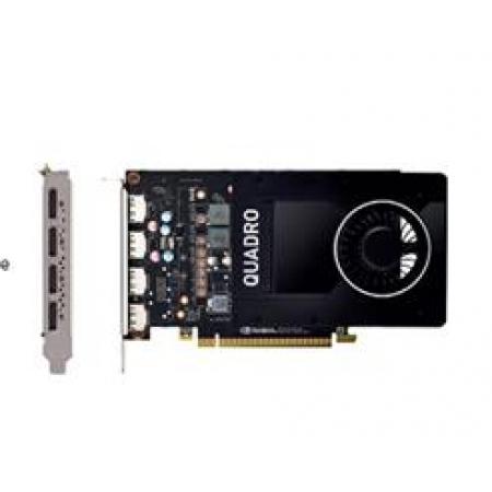 Placa de Video PNY Nvidia Quadro P2200 5GB DDR5X 160BITS VCQP2200-BLK