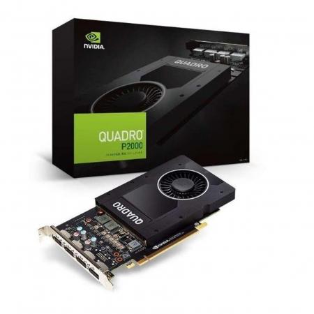 Placa de Video PNY VCQP2200-BLK Quadro P2200 5GB GDDR5X