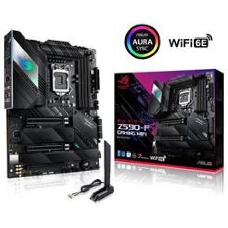 Placa Mae ASUS ROG INTEL LGA (1200) Micro ATX DDR4 - STRIX Z590-F Gaming Wifi