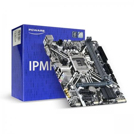PLACA-MAE Micro ATX Pcware INTEL IPMH310G - LGA 1151 - 8A e 9A Geracao VGA/HDMI/USB 3.0