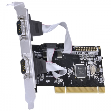 Placa Serial com 2 Saidas RS232, RS485, RS422 IEEE1284 PCI X - P2IE-PCI