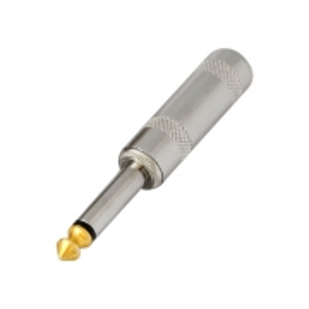 Plug P10 Mono Metal Ponta GOLD