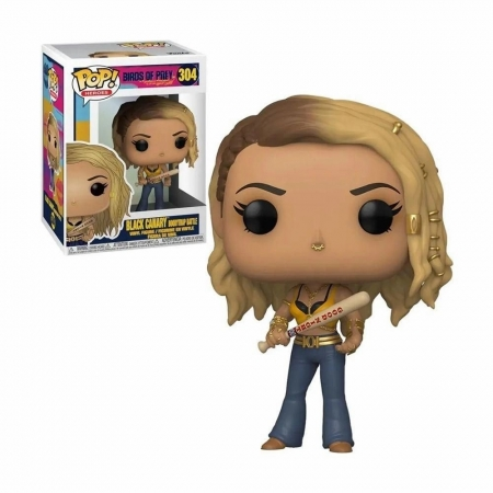 Pop! BIRDS OF PREY - BLACK Canary Boobytrap Battle #304
