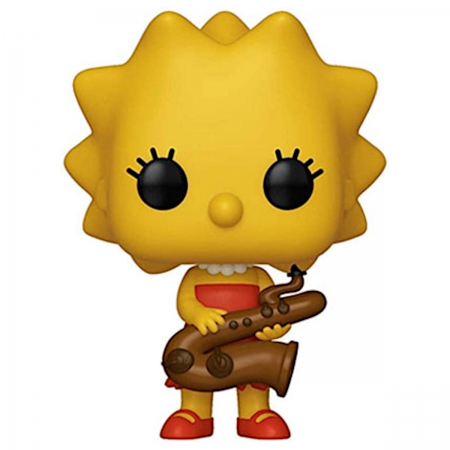 Pop! os Simpsons - Lisa Simpson Saxophne #497