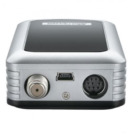 Receptor de TV Analogica Multilaser RE101 com Controle e Caixa USB