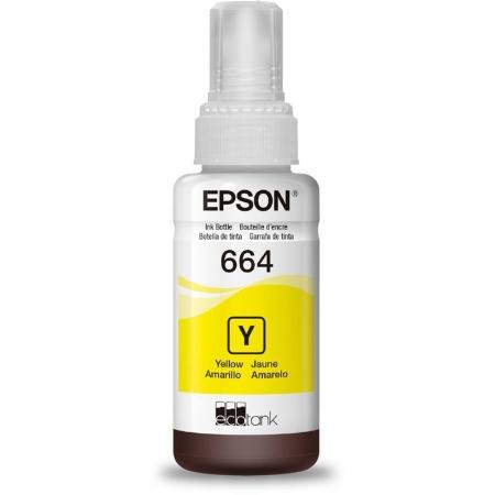 Refil de Tinta EPSON Amarelo 70 ML - T664420-AL