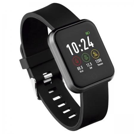 Relogio Smartwatch Londres ANDROID/IOS Preto ES265