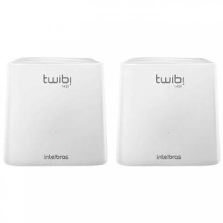 Roteador Wireless Intelbras MESH Twibi Giga 2UN - 4750079 Branco Bivolt