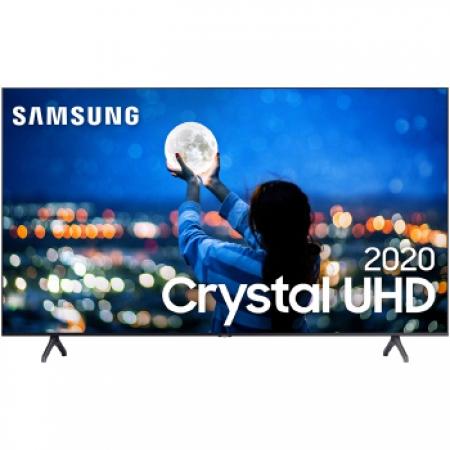 Samsung SMART TV CRYSTAL UHD 4K TU7000 43 , Borda Ultrafina, Controle Remoto Unico, Bluetooth