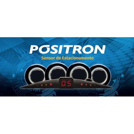 Sensor de Estacionamento Positron 4 Sensores PS220 Prata