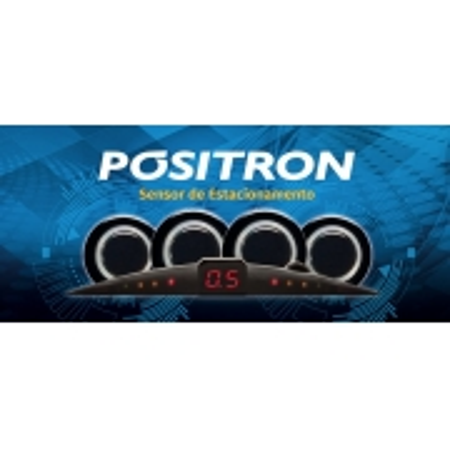 Sensor de Estacionamento Positron 4 Sensores PS220 Preto