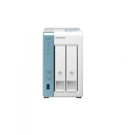 Servidor de Dados NAS Alpine QUAD-CORE 1.7GHZ - 4GB - 2 Baias sem Disco - TS-231P3-4G