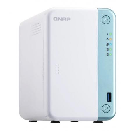 Servidor de Dados NAS INTEL DUAL-CORE 2.0GHZ - 4GB - 2 Baias sem Disco - TS-251D-4G-US
