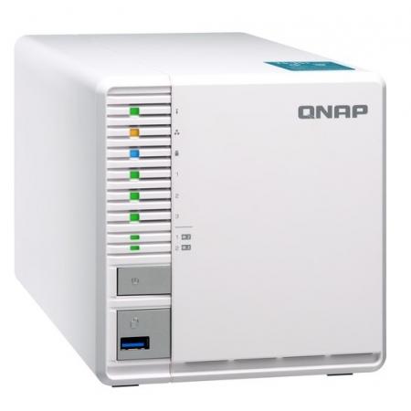 Servidor de Dados NAS INTEL DUAL-CORE 2.41GHZ - 2GB - 3 Baias sem Disco - TS-351-2G-US