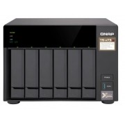Servidor QNAP NAS TS-673-8G  AMD R-SERIES RX-421 ND QUAD-CORE 2.1 GHZ (ate 3,4 GHZ com Turbo Core) 8 GB DDR4