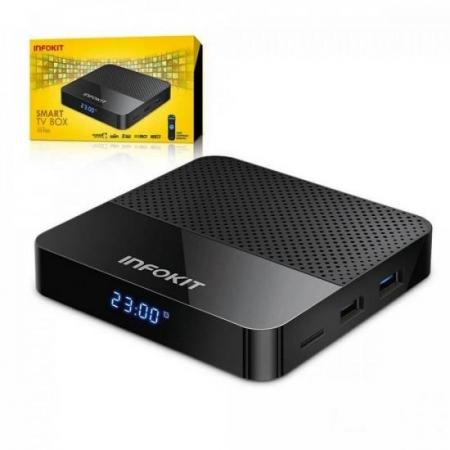 Smart TV BOX Dualband TVB-926D Preto Infokit