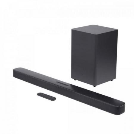 Soundbar 2.1 com Subwoofer Bluetooth 300W Deep BASS Preto JBL
