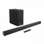 Soundbar com Subwoofer 2.1 Bluetooth 220W Cinema SB160 Preta JBL