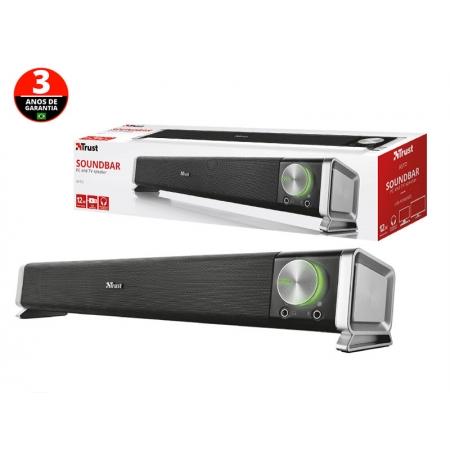 Soundbar para TV e PC Soundbar 21046 ASTO Soundbar para PC 12W