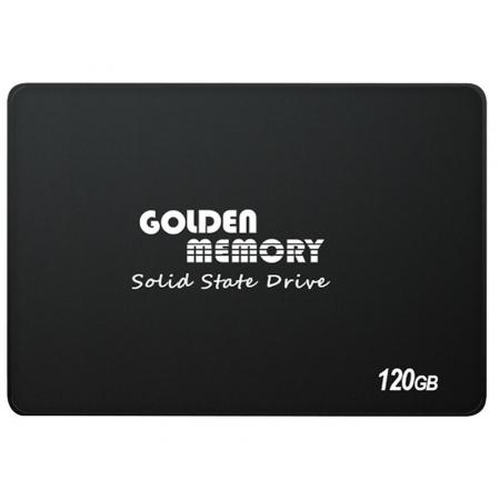 SSD Interno Golden Memory 120GB 2.5 SATA III Leitura 500MB/S Gravacao 300MB/S