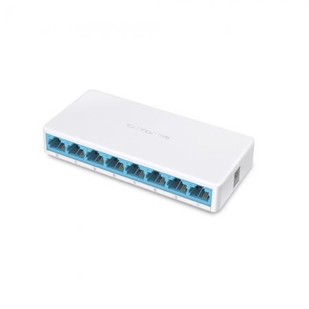 Switch 08 Portas Mercusys MS108G Gigabit
