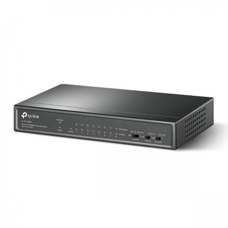 Switch 9 Portas FAST 10/100 (8 Portas Poe+) TL-SF1009P