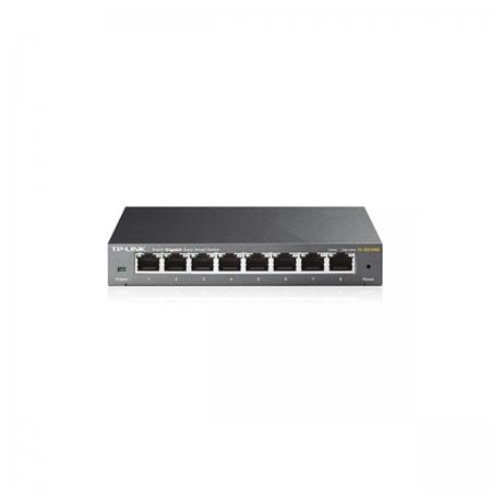 Switch TP-LINK 8 Portas TL-SG108E 10/100/1000 MBPS - TPL0189
