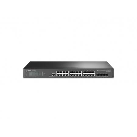 Switch TP-LINK TL-SG3428 (T1600G-28TS T2600G-28TS) Gerenciavel Gigabit L2+ de 24 Portas com 4 SLOTS