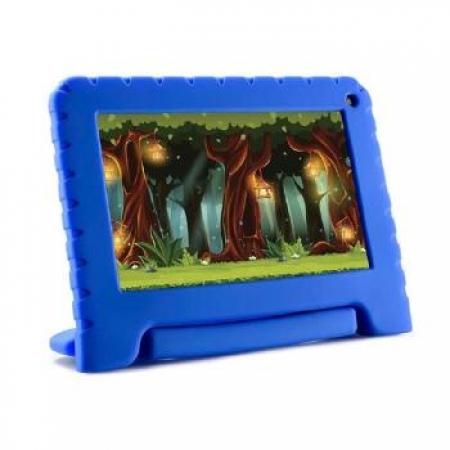Tablet Multilaser Kidpad GO 7P 16GB Quad 1CAM - NB302 AZUL Bivolt