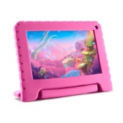 Tablet Multilaser Kidpad GO 7P 16GB Quad 1CAM - NB303 Rosa Bivolt