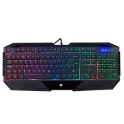 Teclado Gamer LED USB K110 Preto