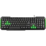 Teclado Multimidia Gamer Teclas Verdes USB TC201