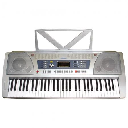 Teclado Musical 558 Bivolt - Memoria para Gravacao em Tempo Real - 100 SONS Variados