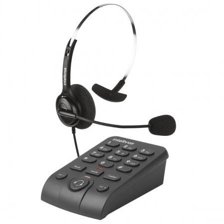 Telefone Intelbras HSB-40 Headset P/TELEMARK. C/FIO 4013342