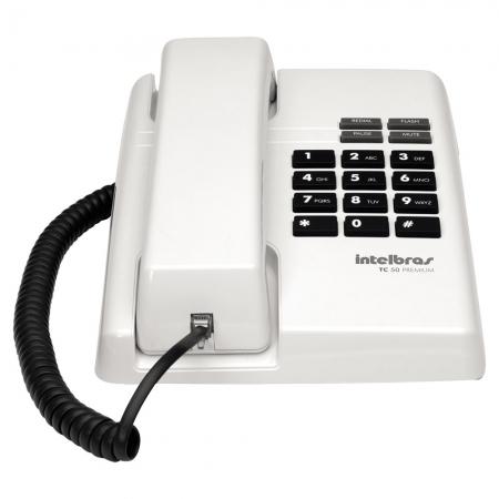 Telefone Intelbras TC50 Premium Branco