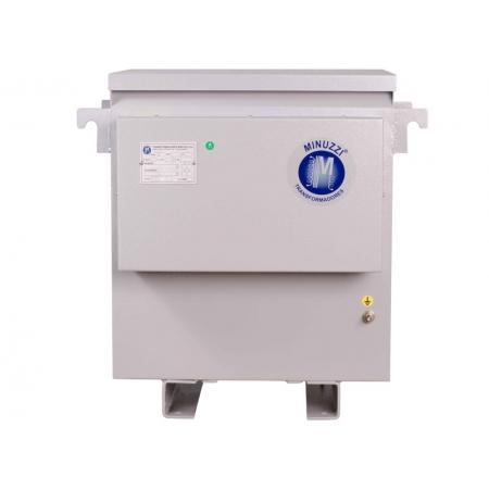 Transformador Trifasico Minuzzi Centrium ENERGY 5500TTC003 Potencia 55KVA de 30 a 40KW Protecao IP21