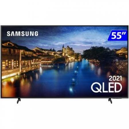TV 55P Samsung QLED SMART Wifi Comando de VOZ - QN55Q60AAGXZD