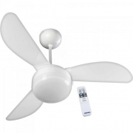 Ventilador de Teto 3 PAS 220V com Controle Fenix Branco Ventisol