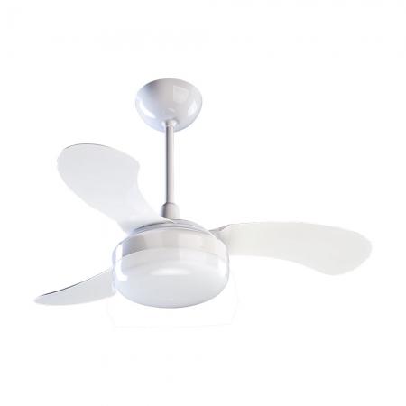 Ventilador de Teto Ventisol Petit Branco 3 PAS 127V